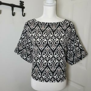 HM Conscious Collection Blouse Geo Paisley Top 10